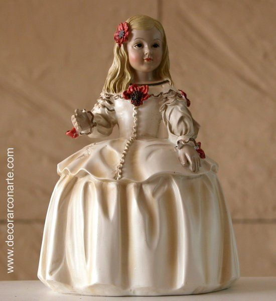 Infanta Margarita. 16 cm. venta de figuras de resina