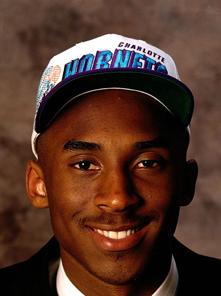 Kobe Bryant draft photoshoot
