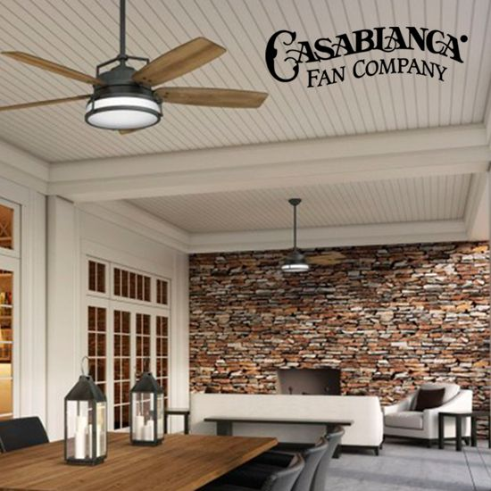 Come See The Latest In Energy Efficient, Indoor And Out Door Ceiling Fans  Like This Utilitarian Casablancau0027s Caneel Bay Fan. Itu0027s Stylish Design Is  Well ...