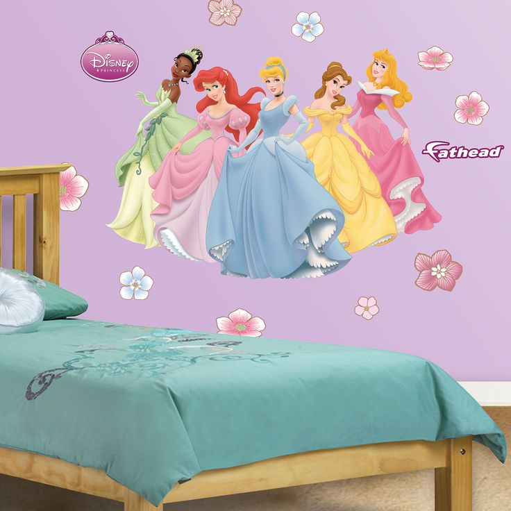Best Disney Princess Theme Wall Decorations Images On Pinterest - Instructions on how to put up a wall sticker
