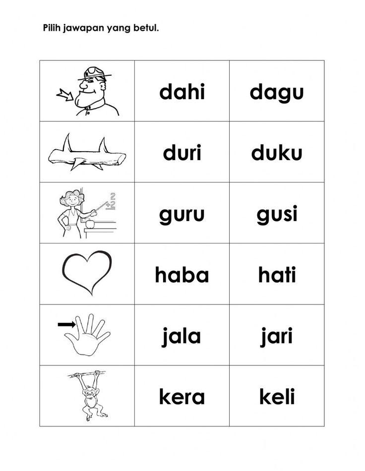 Latihan Kvkv Interactive Worksheet Preschool Activities Printable Preschool Math Worksheets Worksheets Kindergarten literacy activities online