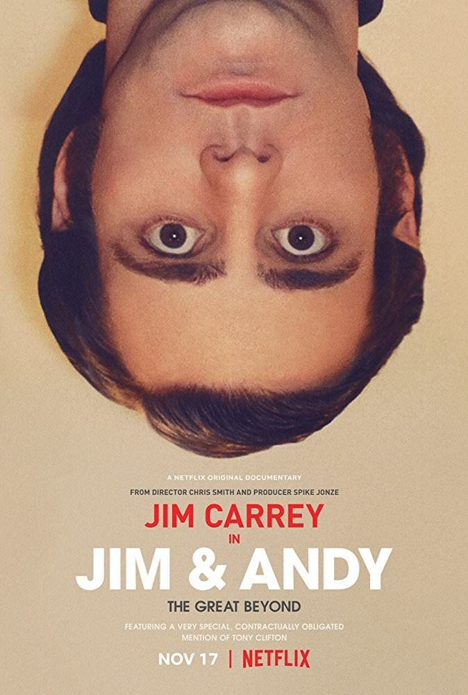 First Poster for Netflix's Documentary 'Jim & Andy: The Great Beyond' - The Story of Jim Carrey's Transformation Into Andy Kaufman for 'Man On The Moon' http://ift.tt/2mfW3M6