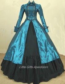 Fotoshoot Feest met Victoriaanse jurk