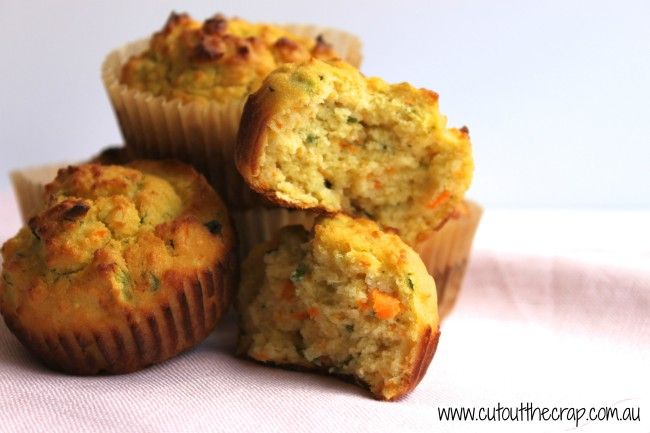 Cut Out The Crap | Savoury Muffins