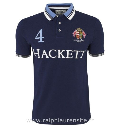 polo hacckett t-shirt hommes h63 london rowing club racing blue Short Ralph  Lauren
