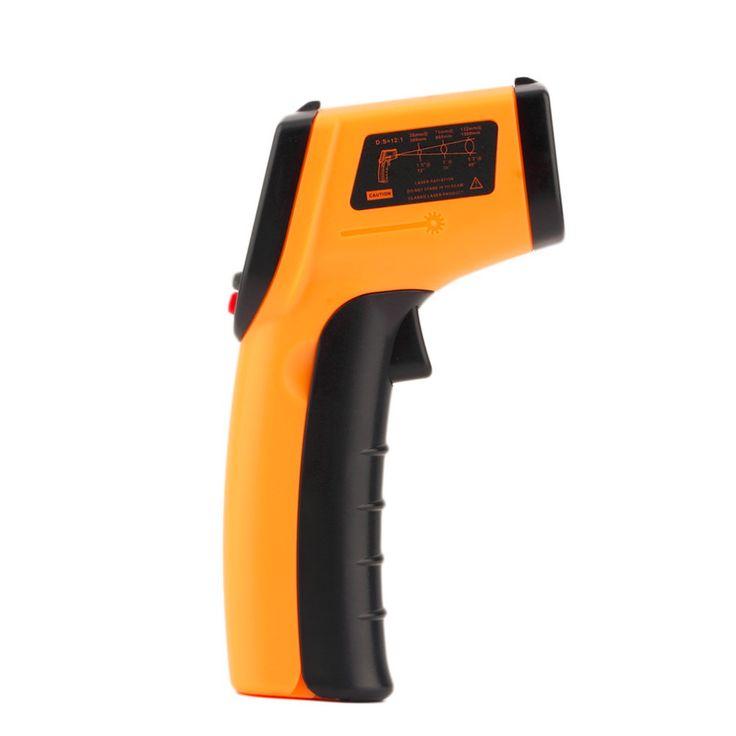 1 Unid Laser LCD Digital de Infrarrojos IR Termómetro Medidor de Temperatura Gun Point GM320-50 ~ 330 Grados No Termómetro de contacto