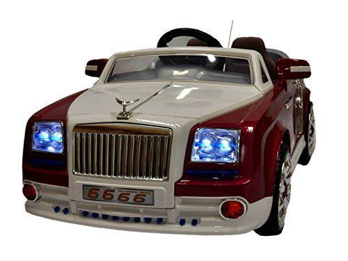 Rolls Royce Phantom Style 2016 Power Wheels For Kids with Remote Control | Rose/White color