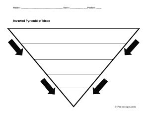 story pyramid template - 88 best images about graphic organizers on pinterest