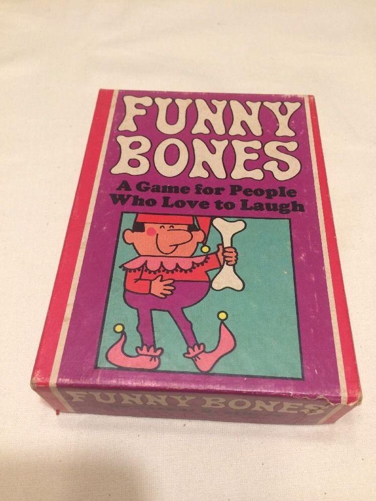 Vintage Parker Brothers Funny Bones Game...1968...Complete