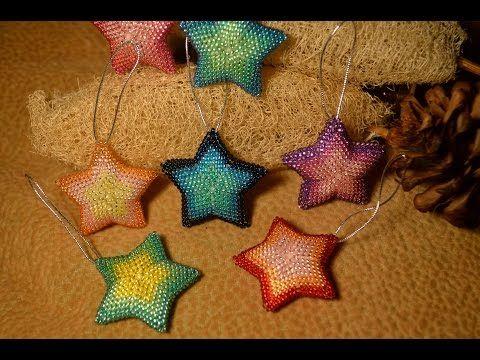 Брелки из бисера. Подвеска. Бисероплетение. Мастер класс / Trinkets of beads. Suspension. Beading. - YouTube