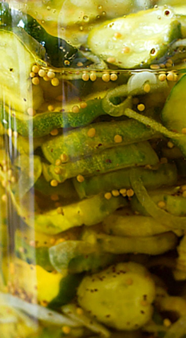 Refrigerator Bread and Butter Pickles ~ A wonderful, simple recipe... No canning equipment required - Just prepare and pop in the fridge!
