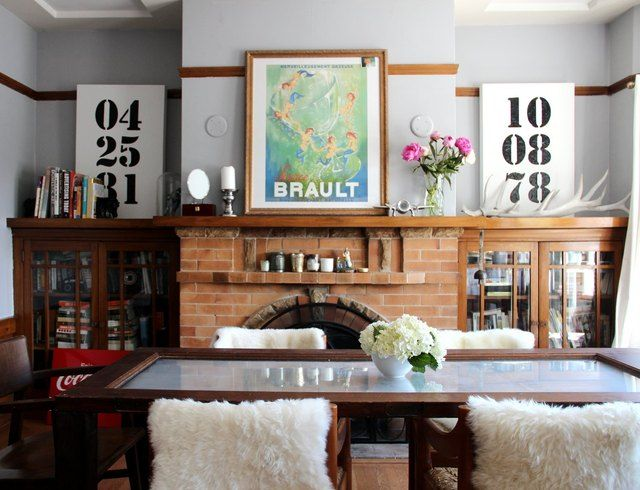 Erin & Rob's Stylish & Glam Family Pad House TourDining Rooms, House Tours, Ideas, Birthday, Glam Families, Apartments Therapy, Living Room, Rob Stylish, Families Pads
