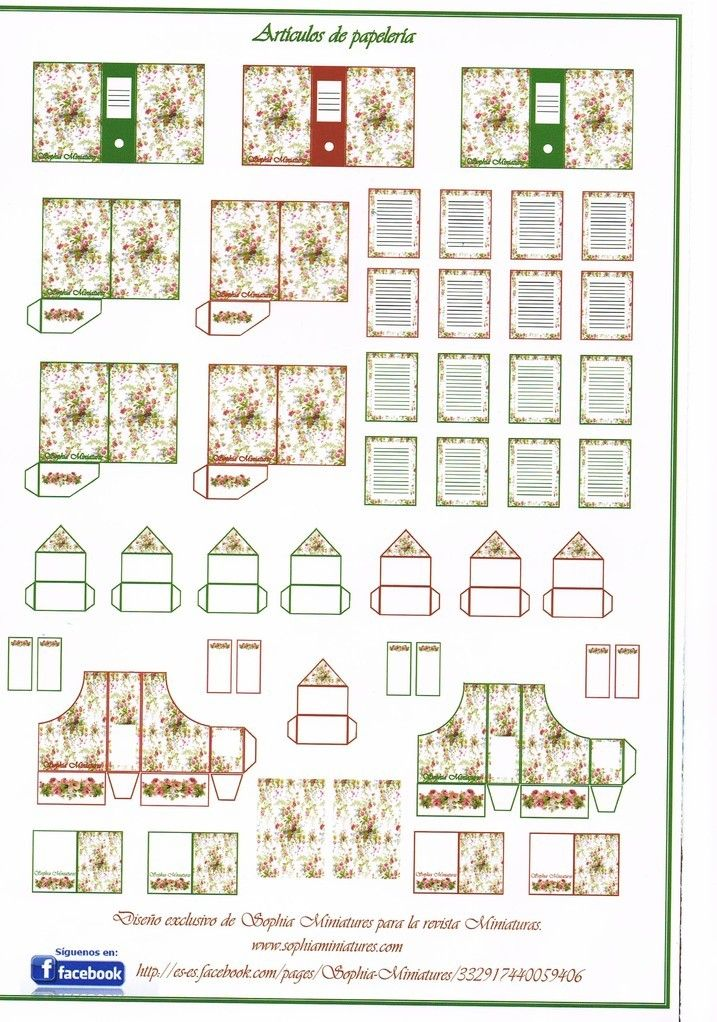 Line Art Dollhouse : Best a scale miniature printables other than