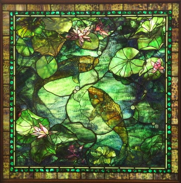 The 66 best images about stained glass on pinterest for Koi pond water quality levels