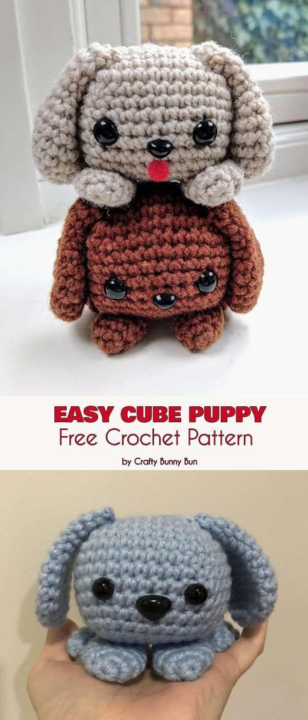Crochet Puppy Dog Amigurumi Free Pattern – Free Amigurumi Patterns ... | 1400x600