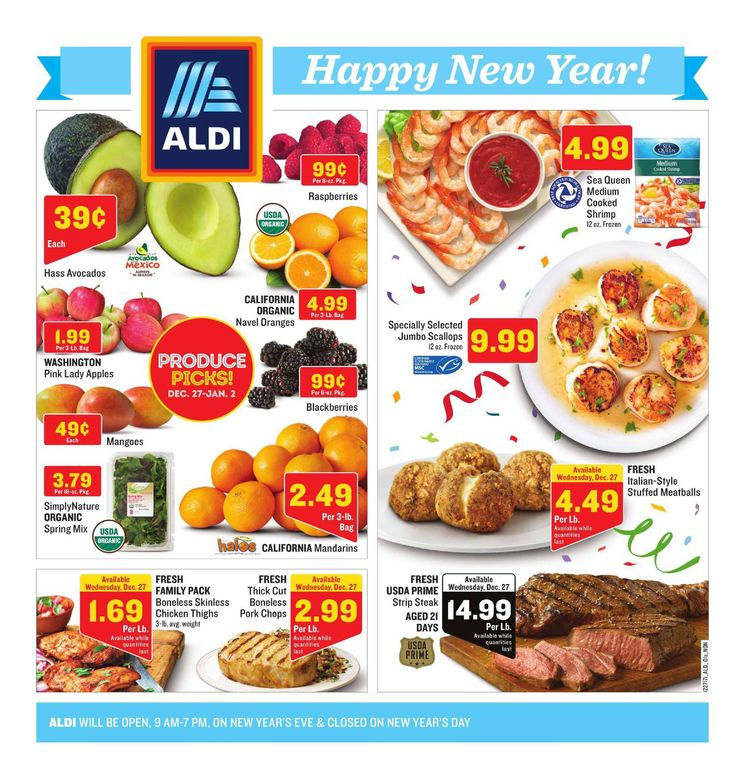 Aldi Weekly ad January 31 – February 6, 2018 – Browse Aldi ad Specials and Weekly Fresh Meat Specials from Aldi here. find digital coupons, Aldi weekly specials, Recipe & Bakery Menu Prices, grocery savings, Aldi store location, sale prices, deli, and the great deals from...