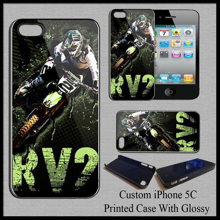 New Hard Case Cover For iPhone 5C Ryan Villopoto Moto Cross Super Cross Champion