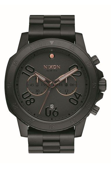 Nixon+'Ranger'+Chronograph+Bracelet+Watch,+44mm+available+at+#Nordstrom