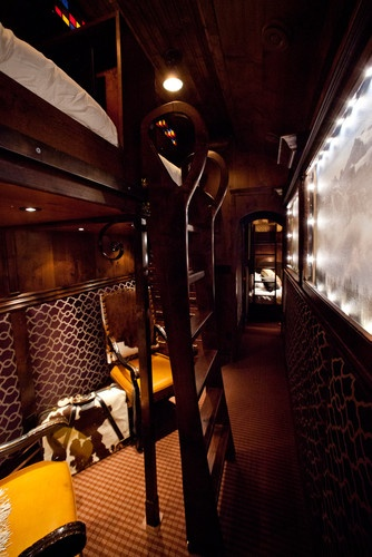 Train Rooms i.e. Luxury Car Bunk Room - traditional - bedroom - other metros - Rusty Nail Design, Inc.
