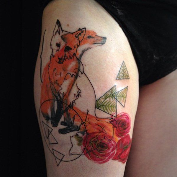 Pin By Gagan Sampla On Page Tattoo: 50+ Examples Of Fox Tattoo