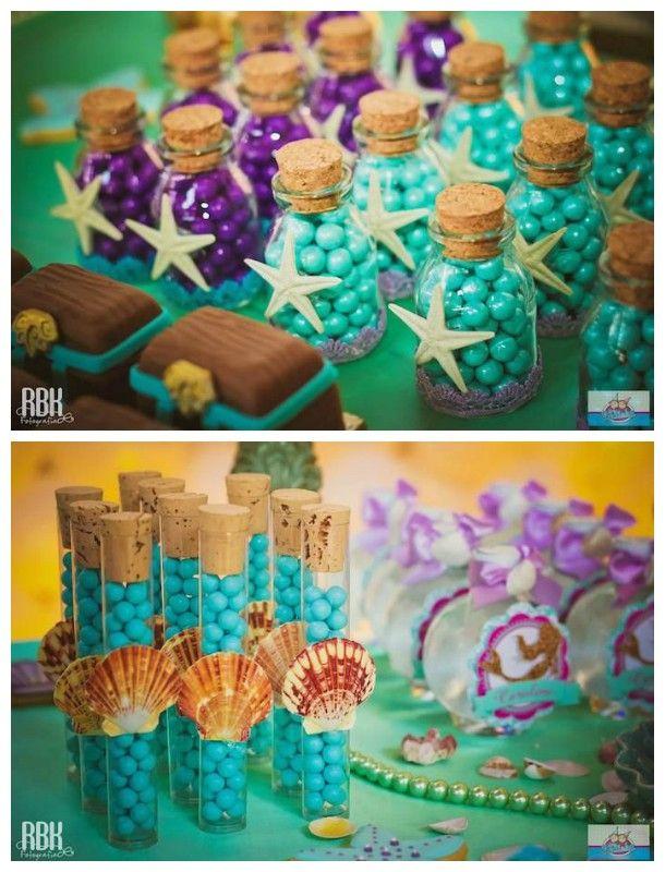 Fundo do Mar e Sereia: mais de 20 ideias para festas!   Ideias e Dicas para Festas