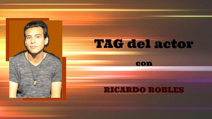 PRIMERA VEZ, UN ACTOR INVITADO AL... TAG del actor//Ricardo Robles