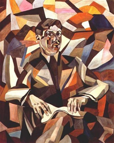 Self-portrait - Aristarkh Lentulov