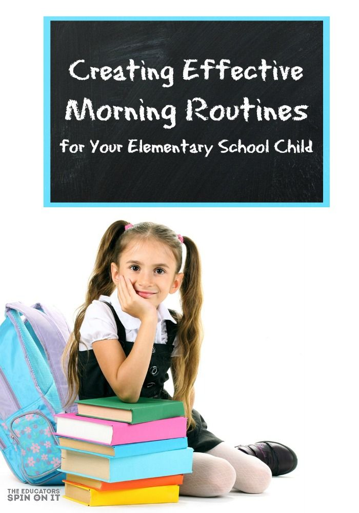 Creating Effective Morning Routines for Your Elementary School Child: Using a Morning Checklist