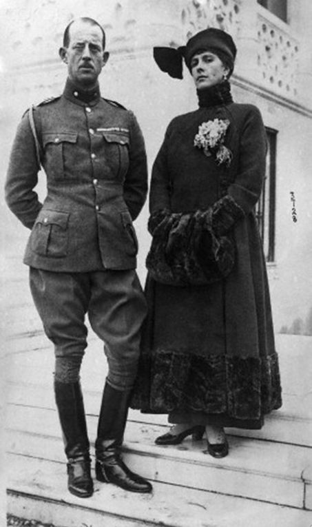Prince Andrew of Greece, with His Wife, Princess Alice