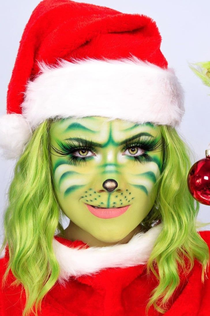 This Tiktok User S 12 Days Of Christmas Makeup Challenge Is So Inventive We Can T Look Away Christmas Makeup Christmas Makeup Look Makeup Challenges