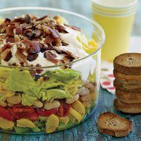 Warm Seven-Layer Salad.