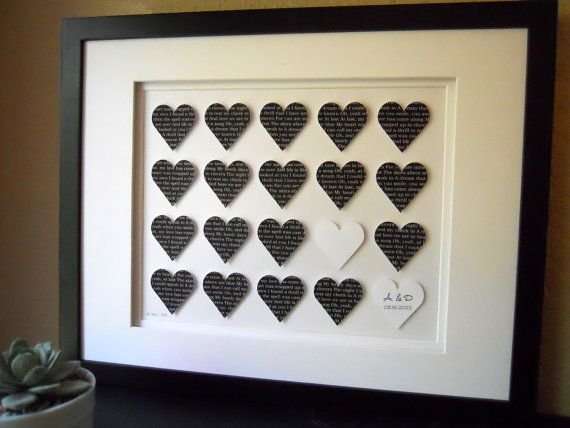 Personalised 1st Wedding Anniversary Gifts: 136 Best Wedding Anniversary Ideas Images On Pinterest
