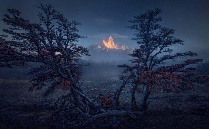 Fotografía de la serie ganadora del primer premio en el International Landscape Photographer of the year. Monte Fitz Roy, Patagonia, Argentina.Max River