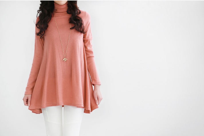mint pink turtle sweater, anyone? see more on thehallyu.com