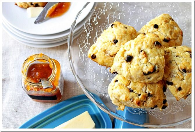 lemon currant scones from Two Tarts. i am sooo making these some time!