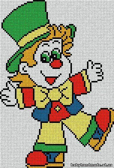 [] #<br/> # #Clowns,<br/> # #Cross #Stitch,<br/> # #Cross #Stitch,<br/> # #Embroidery<br/>