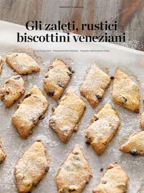 Gli Zaleti - Venetian cookies :-) #Yamadu for a real taste of Italy :-)