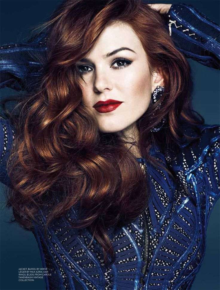 Isla Fisher Wears Burberry Prorsum for Fashion Canada's May 2013 Cover | Fashion Gone Rogue: The Latest in Editorials and Campaigns