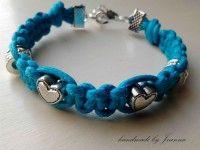 Makramowa Niebieska