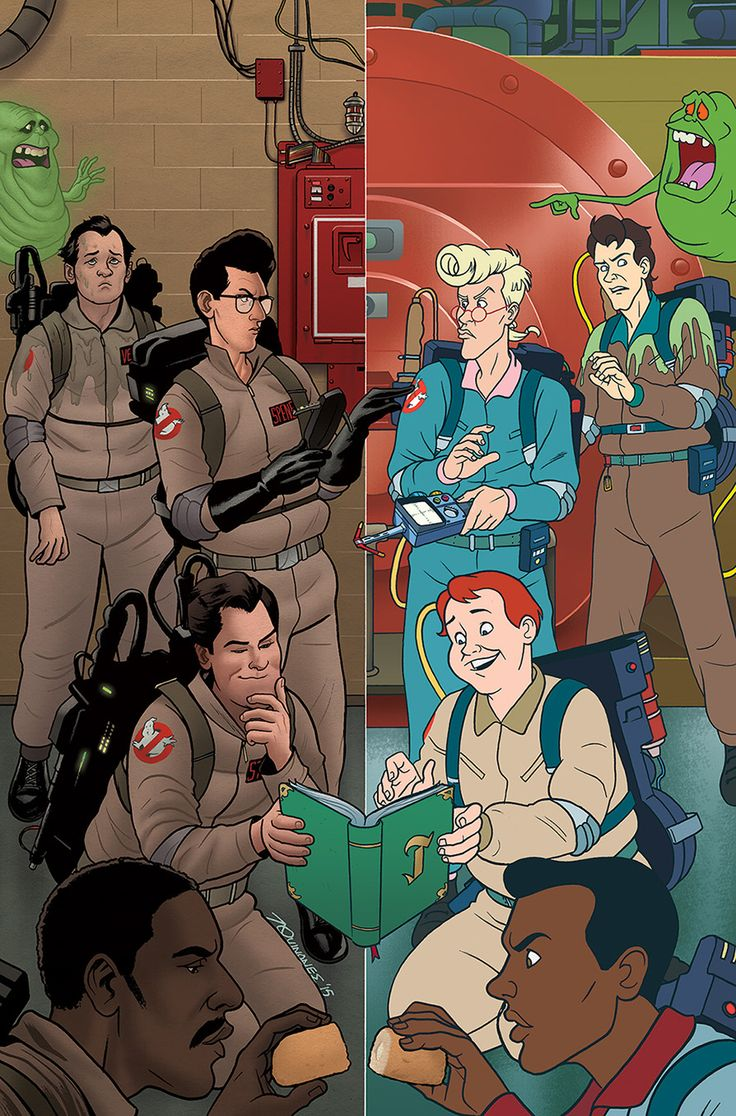Joe Quinones' Tumblr Time : Ghostbusters v. Ghostbusters