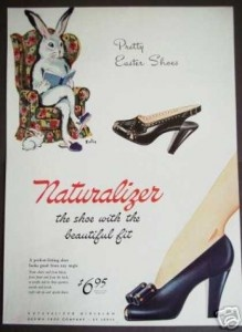 '40s Easter Ad: Easter Shoes, 1940S Natural, Natural Easter, 40S Easter, Vintage Shoes, Vintage Ads, Prints Ads, Art Shoes, Natural Shoes
