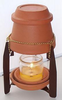 Terracotta Heater | Making a Terracotta Pot Candle Heater | ThriftyFun