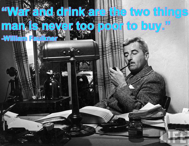the life and style of william faulkner a writer Writing tips by william faulkner — 4 big ideas for creating a fictional world try on faulkner's writing style for size his style makes perfect sense as a way to represent in writing the chaotic reality of life's multiple perspectives.
