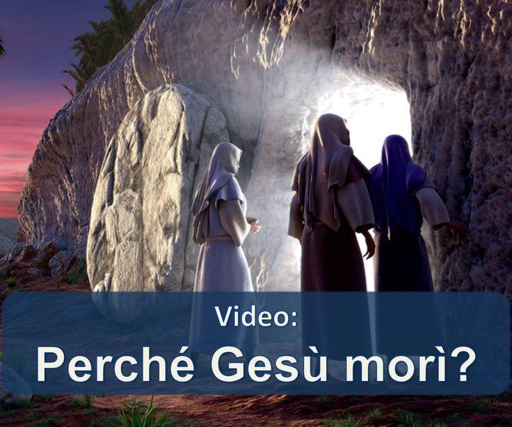 La morte di Gesù aveva uno scopo che può essere di beneficio per voi e la vostra famiglia! Scopri come in questo video.  https://www.jw.org/it/pubblicazioni/libri/dio-ci-d%C3%A0-una-buona-notizia/chi-%C3%A8-ges%C3%B9-cristo/video-perch%C3%A9-ges%C3%B9-mor%C3%AC/ (Jesus' death had a purpose which can be of benefit to you and your family! Find out how in this video.)