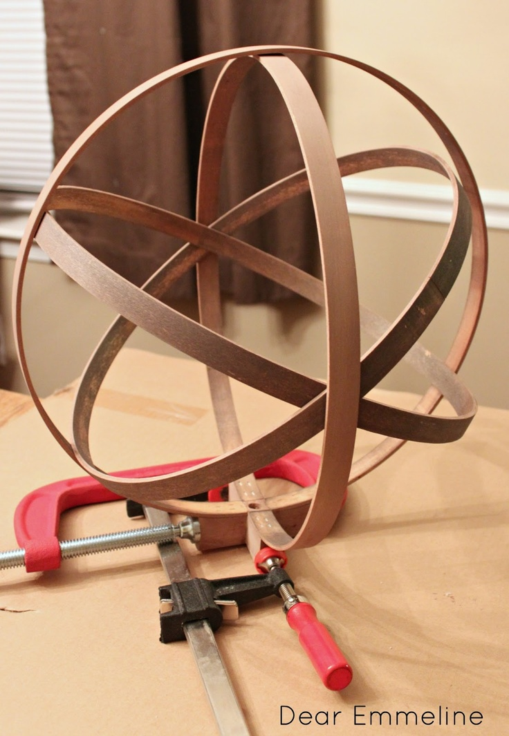 DIY Easy Embroidery Hoop Orb