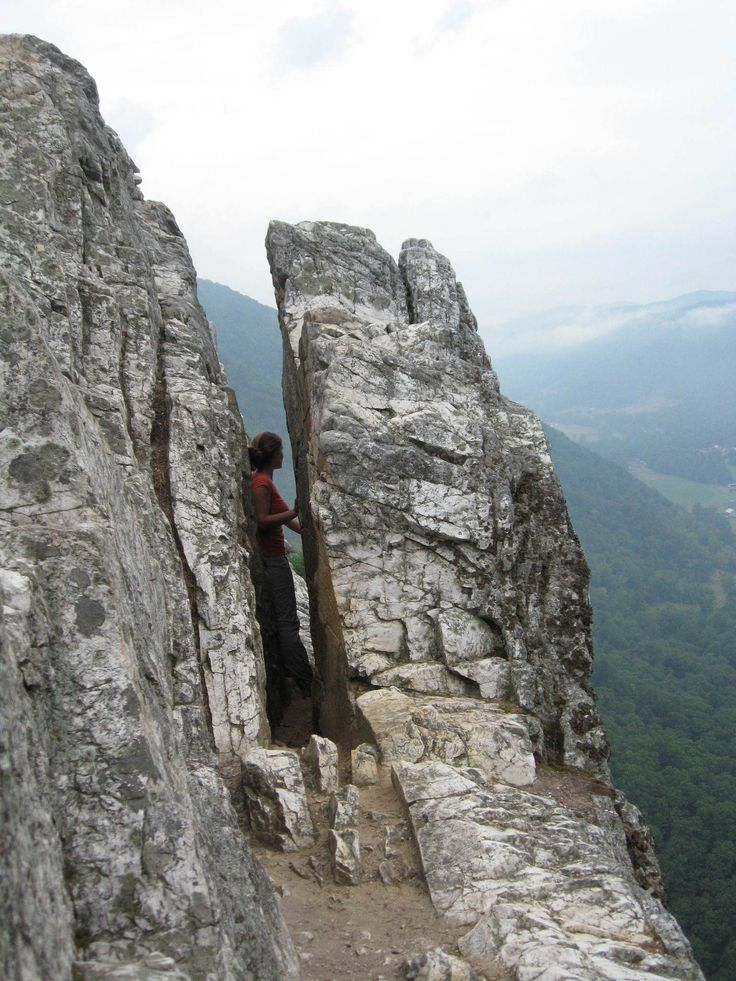 You must go! You can hike to this no rock climbing required. But it is not for the faint of heart.