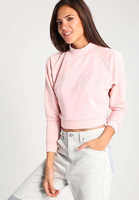 Puma Sweatshirt - silver pink WomenSweatshirts,puma italy,beautiful in colors,Puma Store Of Uk - Puma Online With Clearance Price