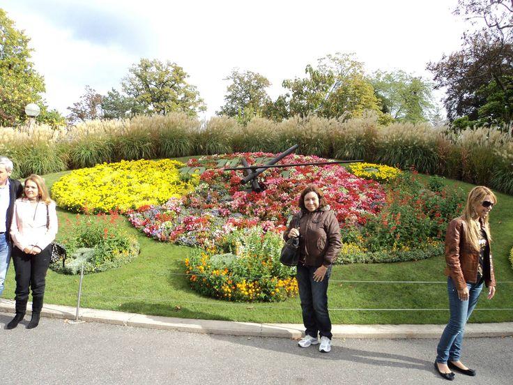 Reloj Floral Ginebra-Fotografía: Iraima M de Touchie