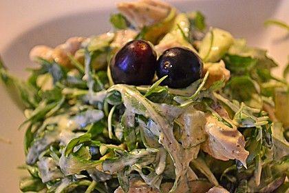 Hühnchen - Rucola - Gurken - Trauben Salat (Rezept mit Bild)   Chefkoch.de