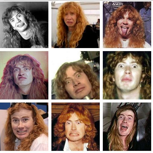441 best images about dave mustaine the worlds best guitar